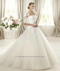 Свадебное платье новое, букет-50 и многое другое