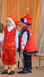 костюм гномика, костюм петрушки прокат, костюм арбуза