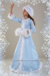 костюм снегурочки, зимы, снежной королевы продажа или прокат