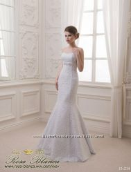 свадебное платье кружевная рыбка