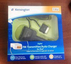 Автомобильное зарядное устройство, FM трансмиттер Kensington для i-Pod