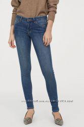 Джинсы H&M Super Skinny Low Jeans р-р 27-32