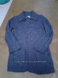 Кофта, свитерок, пальто вязаное  на 6-8лет
