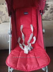 Продам коляску Chicco london красного цвета, бу.
