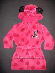 фирменный халат с Минни Disney на 6-9 месяцев