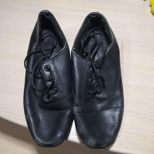Туфли танцевальные, мужские блок, танцев