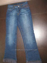 Теплые джинсы на байке GLORIA JEANS для девочки, размер 36146