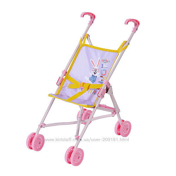 Коляска для куклы Baby born S2 Zapf прогулочная, складная  828670