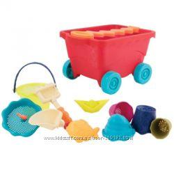 Набор для игры с песком и водой - Тележка манго 11 предметов