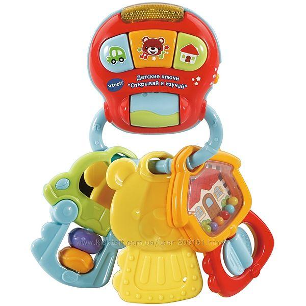 Развивающая игрушка-ключики Vtech Открывай и изучай со звук эф 80-505126