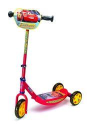 Детский самокат Smoby Toys с металл рамой трехколесный Тачки 3 750154