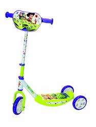 Детский самокат Smoby с металл рамой трехколесный История игрушек 750172