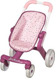 Коляска Smoby Baby Nurse Прованс Прогулка с поворотными колесами 251203