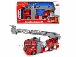Пожарная машина Город звук. , свет. и водяные эф. 31 см, Dickie Toys 3715001
