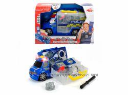 Авто Dickie Toys Полиция с набором полицейского, свет, звук, 33 см, 3716006