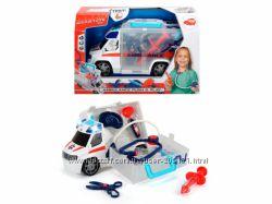 Авто Dickie Toys Скорая помощь с набором доктора, свет, звук, 33 см 3716000