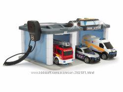 Игровой набор Dickie Toys Спасательный центр звук, свет 3716015