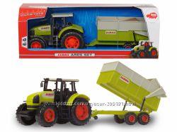Трактор Dickie CLAAS с прицепом 57 см 3739000