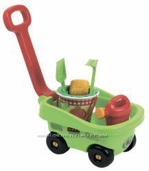 Игровой набор Ecoiffier Тележка садовника с аксессуарами 000344