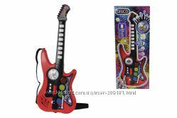 Музыкальный инструмент Simba Toys Диско Гитара 10 звук эф 66 см 6834102