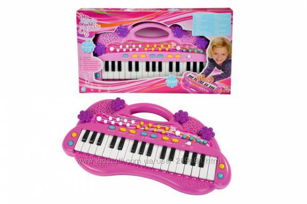 Электросинтезатор для девочек Simba 6830692