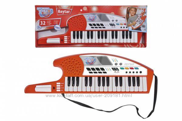 Музыкальный инструмент Simba Клавишная гитара 54 см 6834252
