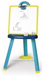 Мольберт Smoby со съемной доской и аксессуарами Сине-Зеленый 410607