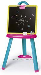 Мольберт Smoby со съемной доской и аксессуарами Розово-Синий 410608