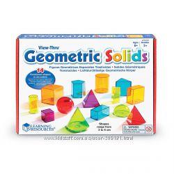 Обучающий игровой набор Learning Resources 3D-геометрия LER4331