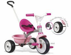 Детский металлический велосипед Smoby Be Move с багажником Розовый 740327