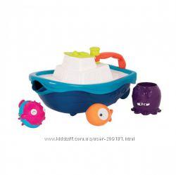 Игровой набор для ванны Кораблик Буль Battat