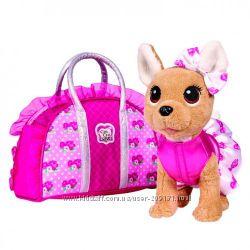 Собачка Chi Chi Love Чихуахуа Розовая мода с сумочкой Simba 5893346
