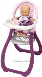 Стульчик Smoby Toys Baby Nurse Прованс для кормления с аксессуарами 220342