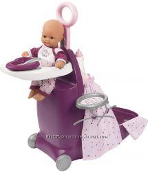 Набор Smoby Toys Baby Nurse Прованс раскладной чемодан 3 в 1 220346