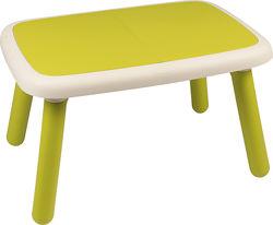 Детский стол Smoby Toys зеленый, голубой