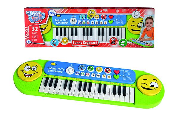 Музыкальный инструмент Simba Toys Клавишные Веселые мелодии, 6834250