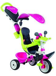 Велосипед детский Smoby Toys Беби Драйвер, козырек, багажник , 741201