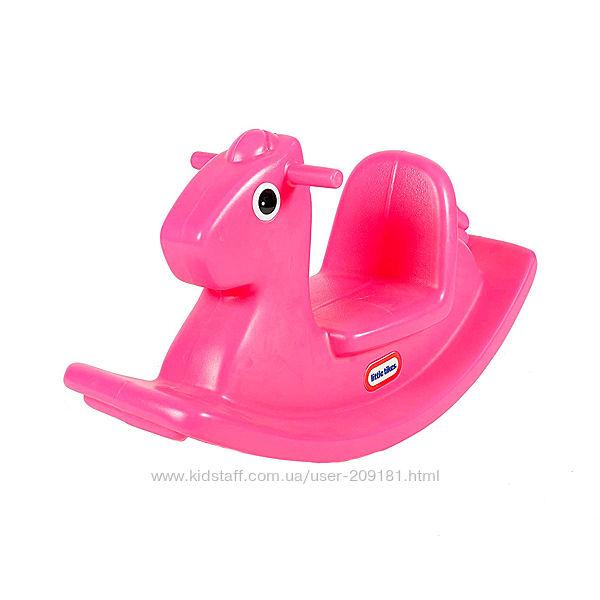 Качалка Little Tikes веселая Лошадка розовая, голубая, 403C00060, 427900072