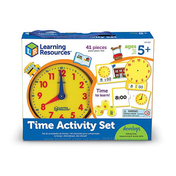 Обучающая игра Learning Resources - Изучаем время LER3220