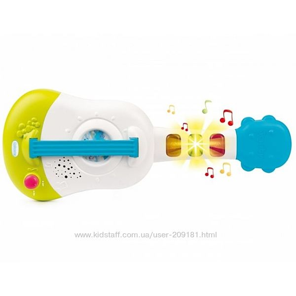 Музыкальная игрушка Smoby toys Гавайская гитара со световыми и звуковыми эф