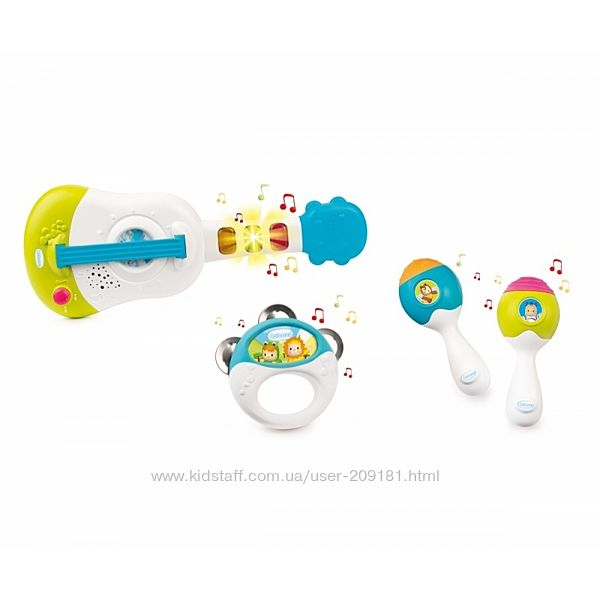Игровой набор  Smoby toys Музыкальные Инструменты 110507