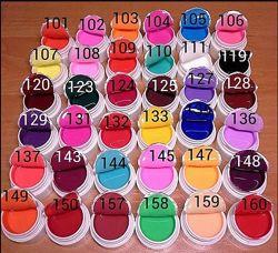 набор цветные гели coco 12, 18, 30, 36