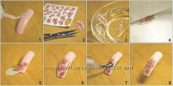 Набор Водные Наклейки для ногтей слайдер дизайн