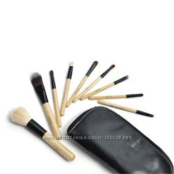 Набор кистей кисти для макияжа 5шт  9шт в чехле в турбусе