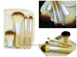 Кисточки кисти 4 ECOTOOLS с бамбуковыми ручками