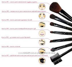 Набор кистей для макияжа MAC 7шт 8шт 12шт16шт