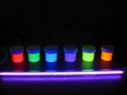 Флуоресцентный пигмент светится в ультрафиолете
