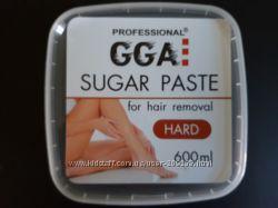 Сахарная паста для шугаринга GGA Professional 400мл 600мл