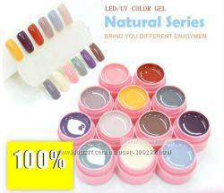 Набор цветных УФ гелей Саnni 12 шт 5мл  в наличии