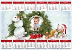 Календари 2018 с Вашими фото. Вкусные Цены плюс Суперкачество